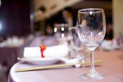 äta middag tabell för garnering Arkivfoton