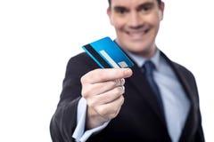 Ta mitt kontanta kort! arkivfoton