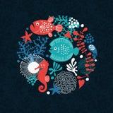tła morze Obrazy Stock