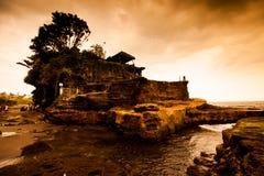 Ta-nah Lot Temple, Bali, Indonesia. Royalty Free Stock Photo