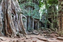 TA Phrom σε Angkor Wat, Καμπότζη Στοκ φωτογραφίες με δικαίωμα ελεύθερης χρήσης