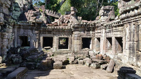 Ta Phrom, Angkor, Siem Reap Imagem de Stock Royalty Free