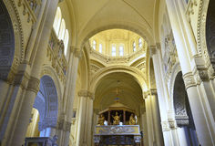 Ta Pinu大教堂,戈佐岛海岛 库存照片