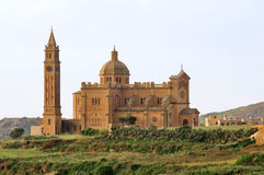 Ta Pinu Basilica Royalty Free Stock Photography