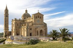 Ta` Pinu Basilica Royalty Free Stock Photography