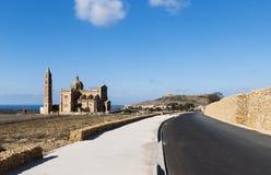 Ta Pinu Chruch, Gozo Royalty-vrije Stock Foto's