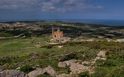Ta' Pinu Church Royalty Free Stock Images