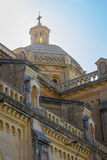 Ta' Pinu Church in Gozo. The Ta 'Pinu on the island of Gozo is an important reliquary Stock Images