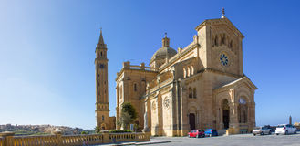 Ta' Pinu Church in Gozo. The Ta 'Pinu on the island of Gozo is an important reliquary Stock Photos