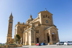 Ta' Pinu Church in Gozo. The Ta 'Pinu on the island of Gozo is an important reliquary Royalty Free Stock Image