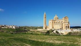 Ta Pinu Church Gozo Island Stock Images