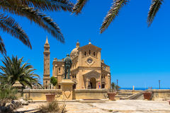 Ta' Pinu church. Ta' Pinu is a Roman Catholic minor basilica and national shrine located some 700 metres from the village of Għarb on the island of Gozo, the Stock Images