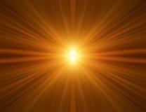 tła pomarańcze promienie Zdjęcia Stock