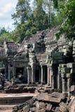 Ta Prohm świątynia Zdjęcie Royalty Free