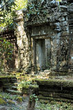 Ta Prohm. Temple in Cambodia Stock Image