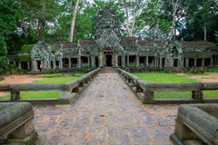 Ta Prohm, Angkor Wat Royalty Free Stock Image
