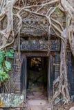 Ta Prohm Angkor Wat Cambodia Royalty Free Stock Photo