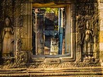 Ta Prohm, Cambodia Fotografia de Stock Royalty Free