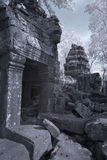 Ta prohm castle siem reap Cambodia Stock Photo