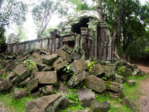 TA Prohm Castle, Angkor Wat, Καμπότζη Στοκ εικόνα με δικαίωμα ελεύθερης χρήσης