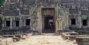 Ta Prohm temple at Angkor Royalty Free Stock Photos