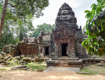 Ta Prohm temple at Angkor Stock Photo