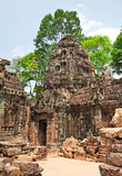 Ta Prohm Temple, Angkor Wat, Cambodia Royalty Free Stock Image