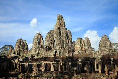 Ta Prohm temple area near Angkor Wat in Cambodia. Royalty Free Stock Photos