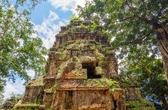 Ta Prohm temple ruin Royalty Free Stock Photos
