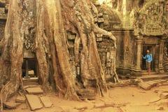 Ta Promh temple, Angkor area, Siem Reap, Cambodia Stock Photos
