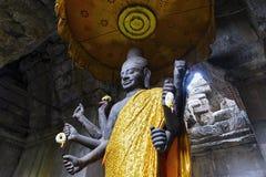 `Ta Reach` Statue at Angkor Wat, Cambodia. Stock Photo