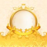 tła retro ramowy Obrazy Royalty Free