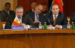 35ta reunión del Consejo de Ministros de los asuntos exteriores de la organización del Estado miembro de la cooperación económica Foto de archivo libre de regalías