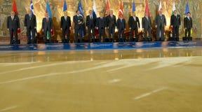 35ta reunión del Consejo de Ministros de los asuntos exteriores de la organización del Estado miembro de la cooperación económica Imagen de archivo