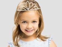 ta słodka mała księżniczka Obrazy Stock