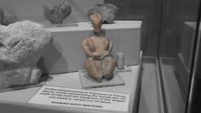 Ta Skorba Temple   goddess figurine stock photography