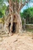 Ta-Som ein kleiner Tempel bei Angkor, Kambodscha, Lizenzfreie Stockfotos