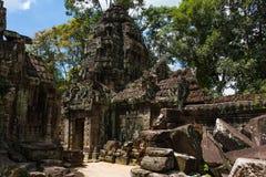 Ta-Som Tempel Royalty-vrije Stock Foto