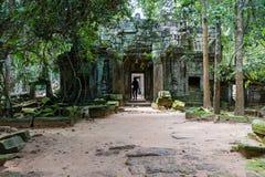 Ta-Som Tempel Stock Foto's