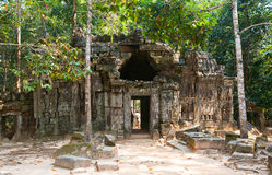 Ta Som temple, Angkor area, Siem Reap, Cambodia Royalty Free Stock Photo