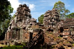Ta Som temple. Angkor,Cambodia Stock Photography