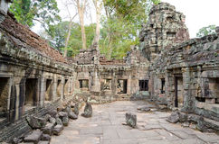 Ta Som temple in Angkor, Cambodia Royalty Free Stock Photos