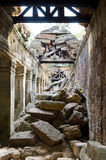 Ruins of Angkor - Ta Som temple Stock Image