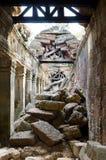 Ruins of Angkor - Ta Som temple Stock Image