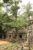Ta Som Temple in Angkor Royalty Free Stock Images