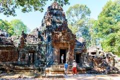 Ta Som temple Royalty Free Stock Image