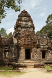 Ta Som Temple - gopura tower, entrance ways, Angkor, Cambodia. Royalty Free Stock Photography