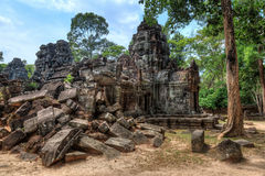 Ta Som temple ruins Royalty Free Stock Images