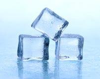 tła sześcianu lodu biel Obrazy Stock