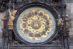 Ta tid på i Prague Arkivfoton